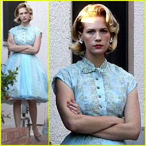 January Jones Resurrects Betty Draper for Halloween 2013!