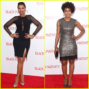 Jennifer Hudson & Angela Bassett: 'Black Nativity' Premiere!
