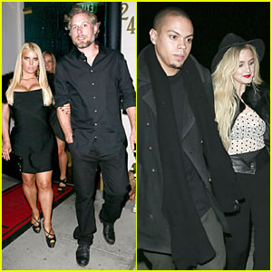 Jessica Simpson & Eric Johnson: Halloween Date with Ashlee!