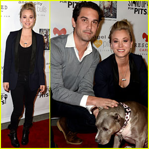 Kaley Cuoco & Ryan Sweeting: Stand Up for Pits Fundraiser!
