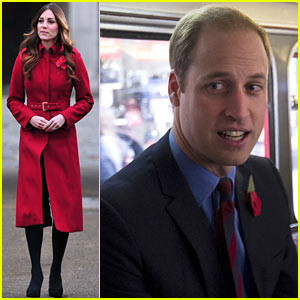 Prince William & Kate Middleton: London Poppy Day Event