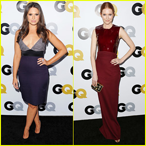 Katie Lowes & Darby Stanchfield: GQ Men of the Year Party!
