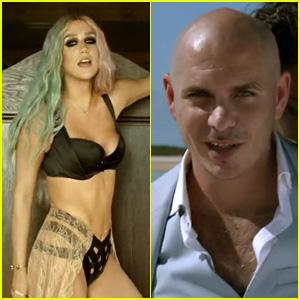 Ke$ha Puts on Striptease in Pitbull's Timber Music Video?Check It ...