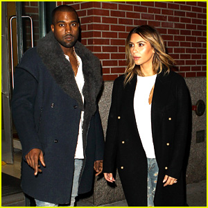 Kim Kardashian & Kanye West: Barclays Center Night Two!