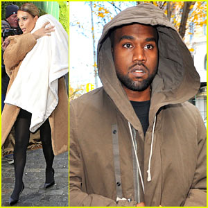 Kim Kardasian & Kanye West Step Out After 'Bound 2' Release!