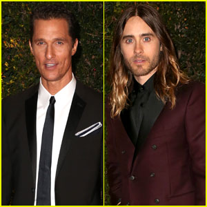 Matthew McConaughey & Jared Leto - Governors Awards 2013