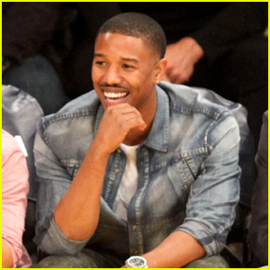 Michael B. Jordan: Courtside Seats at Lakers vs. Kings Game!