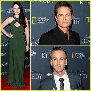 Michelle Trachtenberg & Rob Lowe: 'Killing Kennedy' Premiere!