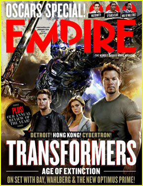 Mark Wahlberg's Huge Guns Cover 'Empire' January 2014