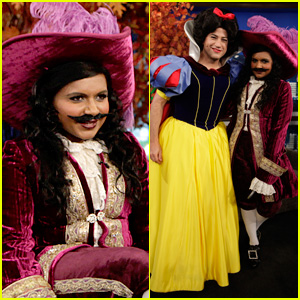 Mindy Kaling & Jimmy Kimmel: Disney Halloween Costumes!