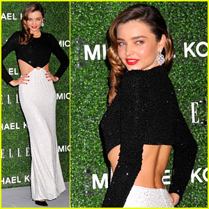 Miranda Kerr Celebrates 'Elle Japan' Cover with Michael Kors!