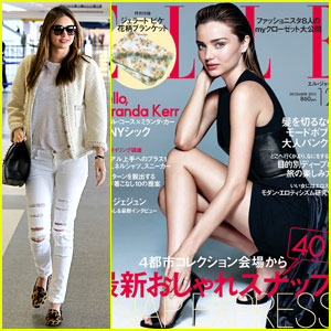 Miranda Kerr Drops It Low For 'Elle Japan' December 2013