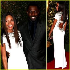 Naomie Harris & Idris Elba - Governors Award 2013