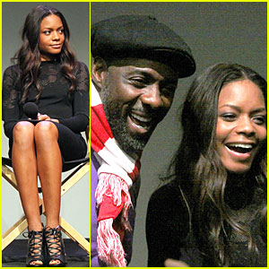 Naomie Harris & Idris Elba: 'Mandela' Apple Panel!