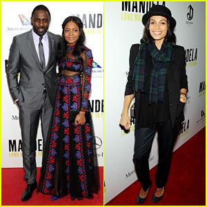 Naomie Harris & Idris Elba: 'Mandela' NY Premiere!