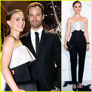 Natalie Portman: Miss Dior Exhibition with Benjamin Millepied!