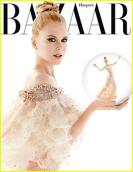 Nicole Kidman Covers 'Harper's Bazaar Australia' December 2013