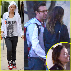 Olivia Wilde & Jason Sudeikis: 'Nebraska' Screening Sweeties