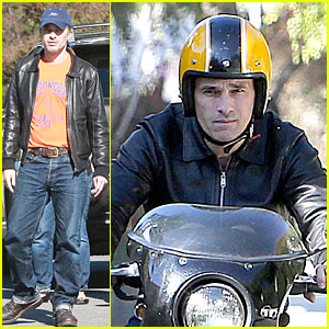 Olivier Martinez: Fender Bender in Studio City