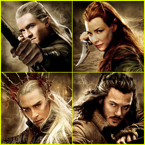 Orlando Bloom: 'Hobbit: The Desolation of Smaug' Character Posters!