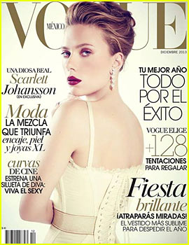 Scarlett Johansson Turns 29, Covers 'Vogue Mexico'!