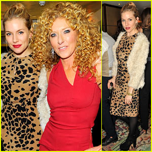 Sienna Miller: 'Design Masterclass' Book Launch!