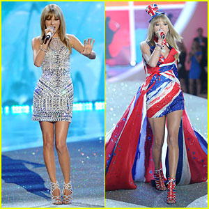 Taylor Swift: Victoria's Secret Fashion Show Performer 2013