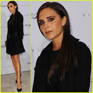 Victoria Beckham Presents Spring/Summer Collection in Munich!