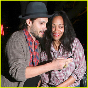 Zoe Saldana & Marco Perego Share Cute Moment After Dinner