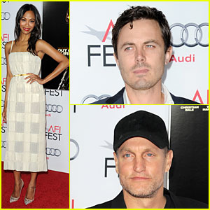 Zoe Saldana: 'Out of the Furnace' Screening at AFI Fest!