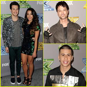 Alex & Sierra Celebrate After Winning 'X Factor' Season 3!