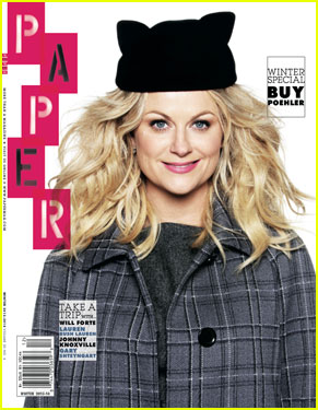 Amy Poehler Covers 'Paper Magazine's Holiday Gift Guide Issue!