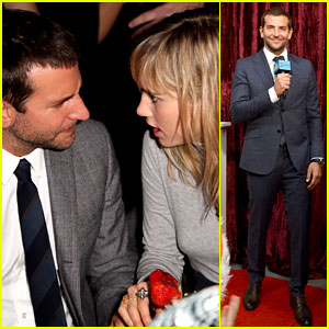 Bradley Cooper & Suki Waterhouse: 'American Hustle' Party Pair!