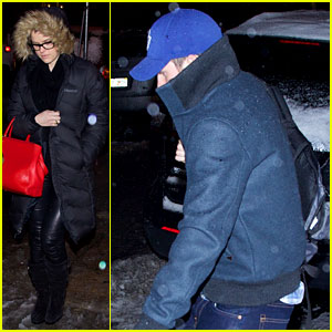 Chris Evans & Alice Eve: New York Dinner Date!
