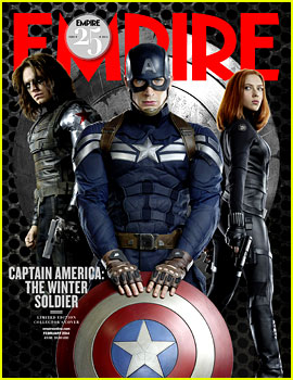 Chris Evans: 'Captain America: Winter Soldier' Covers 'Empire'!