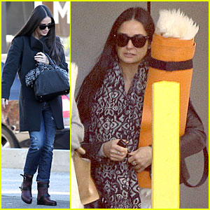 Demi Moore: Andy LeCompte Hair Appointment!