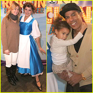 Ellen Pompeo & Chris Ivery: Disney on Ice with Stella!