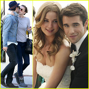 Emily VanCamp & Josh Bowman: 'Revenge' Wedding Pictures!