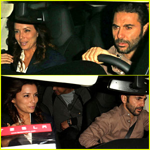 Eva Longoria: Nobu Date Night with Jose Antonio Baston!