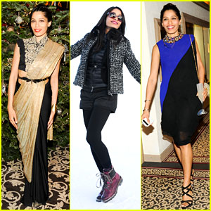 Freida Pinto: ASMALLWORLD Winter Weekend in Switzerland!