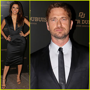 Gerard Butler: Roger Dubuis Art Basel Miami Party!