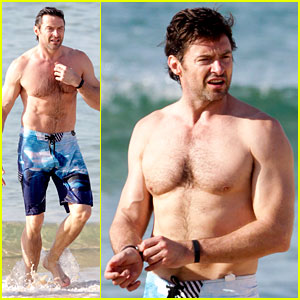 Hugh Jackman Goes Sexy Shirtless After 'Pan' Casting News!