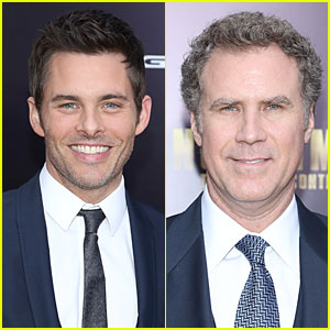 James Marsden & Will Ferrell: 'Anchorman 2' NYC Premiere!