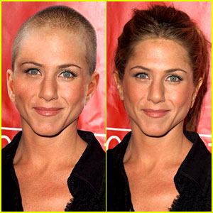 Jennifer Aniston Did Not Shave Her Head