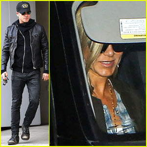 Jennifer Aniston & Justin Theroux: Emily Blunt's Baby Shower!
