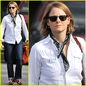 Jodie Foster: 'Elysium' on DVD & Blu-ray Now!