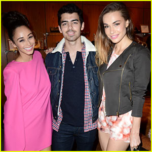 Joe Jonas Supports Cara Santana at Fashion Blog Launch (Exclusive Pics!)