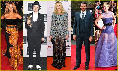 Just Jared's Top 13 Stylish Stars of 2013!