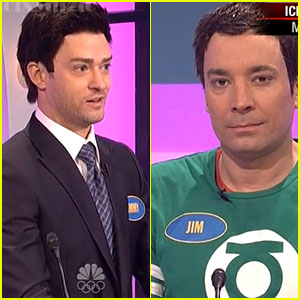 Justin Timberlake Plays Jimmy Fallon for SNL's 'Family Feud' - WATCH NOW!