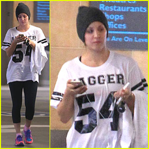 Kaley Cuoco: Workout Babe After Gifting a New Car to Parents!